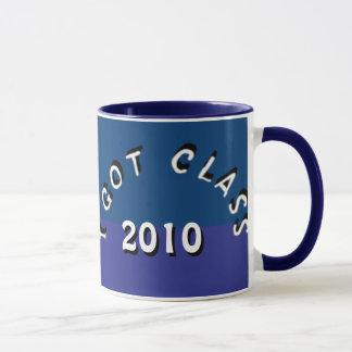 Ich erhielt Klasse (Blaubeerduell II) Tasse