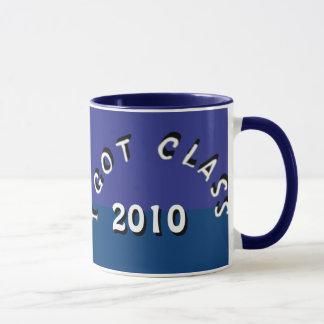 Ich erhielt Klasse (Blaubeerduell) Tasse