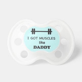 Ich erhielt Muskeln wie Vati Baby Schnuller