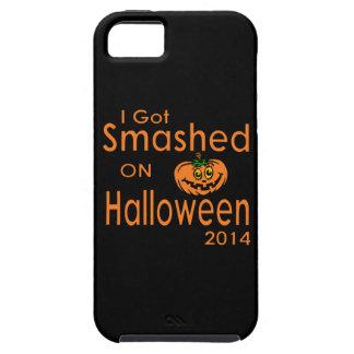 Ich erhielt zertrümmerten Kürbis Halloween 2014 Hülle Fürs iPhone 5