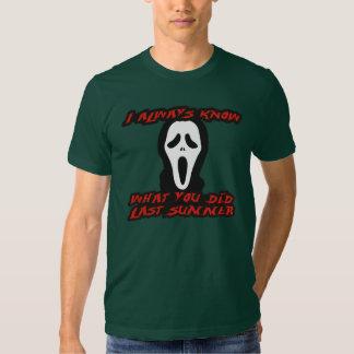 Ich erinnere mich an letzten Sommer Shirts