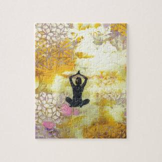 Ich erinnere mich zu meditieren puzzle