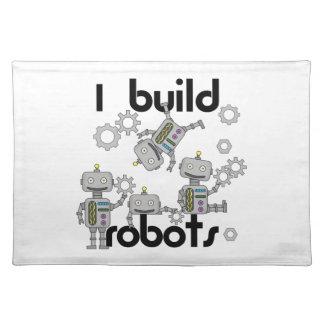 Ich errichte Roboter Tischsets