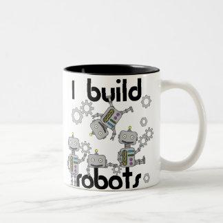 Ich errichte Roboter Zweifarbige Tasse