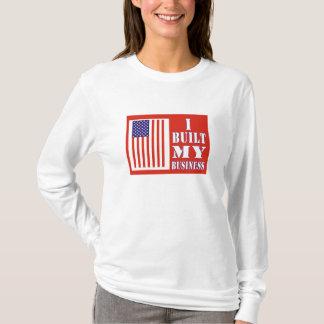 Ich errichtete mein Geschäft politisches T-Shirt