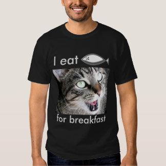Ich esse Jesus-Fische zum Frühstück Shirt