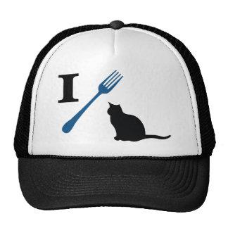 Ich esse Pussy-Katzen Trucker Caps
