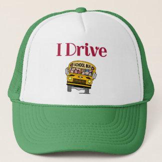 Ich fahre einen Schulbushut Truckerkappe