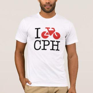 Ich fahre Kopenhagen-T - Shirt rad