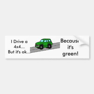 Ich fahre SUV…, aber es ist…,… okay Autoaufkleber