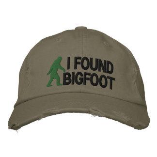 Ich fand Bigfoot * großes logo* Bestickte Baseballkappe
