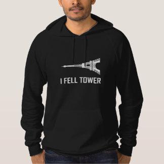 Ich fiel Eiffelturm Hoodie