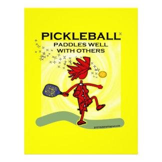 Ich finde Pickleball Shirts u. Geschenke Gefallen Flyer Druck