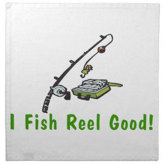 Ich fische die gute Spule Serviette