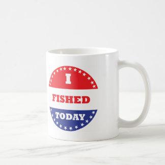 Ich fischte heute kaffeetasse
