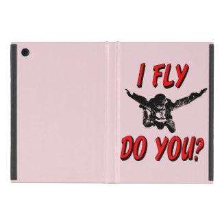 Ich fliege, tun Sie? (Schwarzes) Etui Fürs iPad Mini