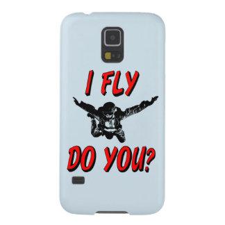 Ich fliege, tun Sie? (Schwarzes) Galaxy S5 Hülle