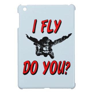 Ich fliege, tun Sie? (Schwarzes) iPad Mini Hülle