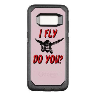Ich fliege, tun Sie? (Schwarzes) OtterBox Commuter Samsung Galaxy S8 Hülle