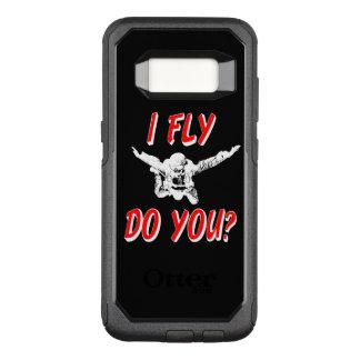 Ich fliege, tun Sie? (weiß) OtterBox Commuter Samsung Galaxy S8 Hülle