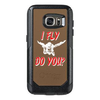 Ich fliege, tun Sie? (weiß) OtterBox Samsung Galaxy S7 Hülle