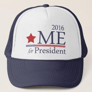 Ich for president truckerkappe