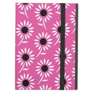 ich fülle rosa Schwarz-weißes Muster auf