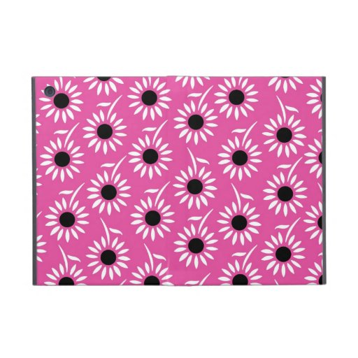 ich fülle rosa Schwarz-weißes Muster auf Hülle Fürs iPad Mini