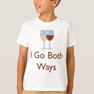 Ich gehe beide Weisen T-Shirt