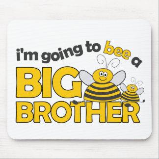 Ich gehe zur BIENE ein großer Bruder-T - Shirt Mauspads