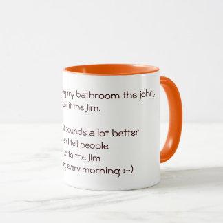 Ich gehe zur Zitat-Witz-Tee-Kaffee-Tasse Jims Tasse