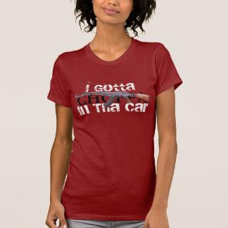 Ich gelangte an CHOPPA im Tha Auto-Shirt T-Shirt