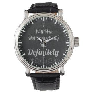 Ich gewinne - motivierend armbanduhr