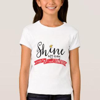 ich glänze mein Weise nettes und überzeugtes T-Shirt