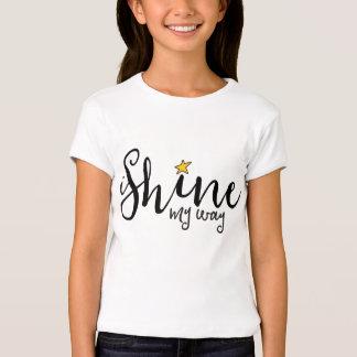 ich glänze mein Weisenlogot-stück Shirt