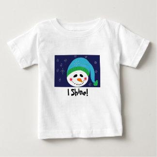 Ich glänze Schneemann Shirt