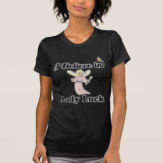 ich glaube an Damenglück T-Shirt