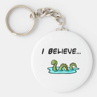 Ich glaube an das Loch- Nessmonster Schlüsselanhänger