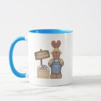 Ich glaube an die Osterhasen-Tasse Tasse