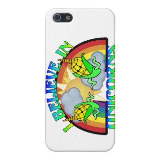 Ich glaube an Einhörner Hülle Fürs iPhone 5