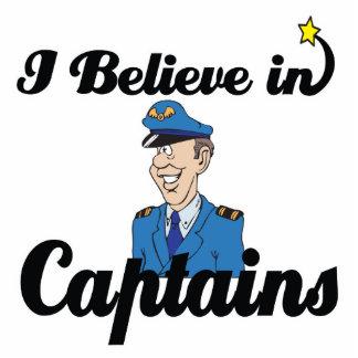 ich glaube an Kapitäne Freistehende Fotoskulptur