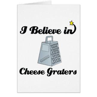 ich glaube an Käsereiben Karte