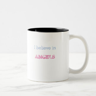 Ich glaube an kleine Flügel der Engels-Tasse Zweifarbige Tasse