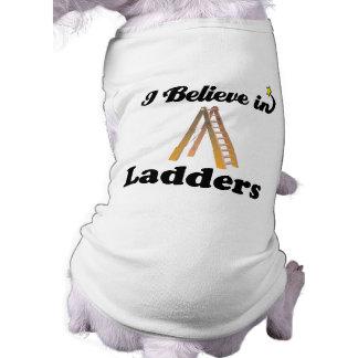 ich glaube an Leitern T-Shirt