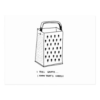 Ich glaube Gitter Postkarte