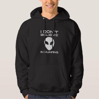 Ich glaube nicht an Menschen Hoodie