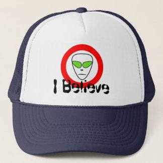 Ich glaube Raum-alien UFO Truckerkappe