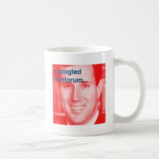 Ich googled Santorum Tasse