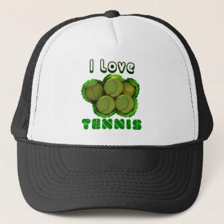 Ich grabe Tennis-Grand Slam Truckerkappe