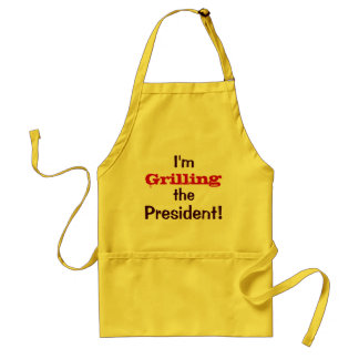 Ich grille den Präsidenten - 4 Juli Witz Schürzen